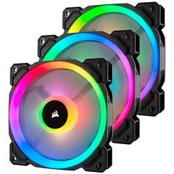 Image of CORSAIR LL120 RGB BLACK FAN - 3X