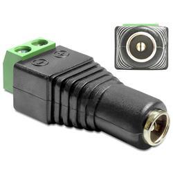 Image of IADAP TB2-DC2555F è un adattatore CC a morsettiera, ideale per particolari applicazioni industriali come ad esempio per il collegamento di fili singoli con la testa del cavo aperta.Specifiche tecniche· Connettori: - DC 2,5 (interno) x 5,5 (e