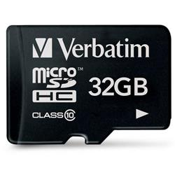 Image of Le schede di memoria form factor più piccole attualmente disponibili sono le microSDHC, progettate specificamente per telefoni cellulari. Questa sottile scheda di memoria consuma molto poco, non compromettendo quindi, la durata della batteria dei c