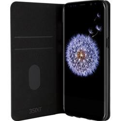 Image of · Cover per Samsung Galaxy S9 Plus· Custodia elegante con funziona aggiuntiva di stand e retro in gomma· Dotata di due tasche porta carta di credito, documenti o foto· Protegge da influssi esterni e danneggiamenti· Forni