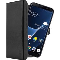 Image of · Cover per Samsung Galaxy S9· Custodia 2 in 1, dotata di tasca interna estraibile con semplicità e utilizzabile come borsa aggiuntiva· Design in vera pelle che risalta per l'eleganza· Materiale ultraleggero garantisce u