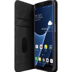 Image of · Cover per Samsung Galaxy S8 Plus· Custodia elegante con funziona aggiuntiva di stand e retro in gomma· Dotata di due tasche porta carta di credito, documenti o foto· Protegge da influssi esterni e danneggiamenti· Forni