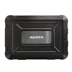 Image of ADATA AED600-U31-CBK CASE ESTERNO 2.5'' NERO per HDD/SSD (SHOCK/WATERPROOF/