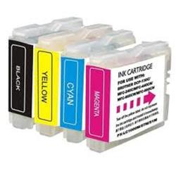Image of BROTHER KIT 4 CART COLORE MFC-J245/470DW/