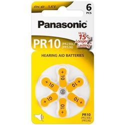 Image of · Batterie a bottone per le più diffuse protesi acustiche· In blister da 6 pezzi· La pratica confezione permette l estrazione della singola batteria mantenendo inalterato il blisterCaratteristiche· Voltaggio: 1,4V&middot