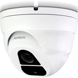 Image of IC-DGC5105T è una telecamera dome CCTV IR Quadribrid da 5 Megapixel, per la sorveglianza dei perimetri e degli ingressi, per una superficie di 15-30 metri, adatta a negozi e abitazioni.Dotata di un raggio di azione di 116° super-grandangolare,