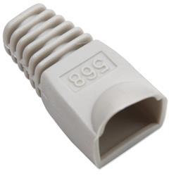 Image of · Copriconnettore per Plug RJ45· Utilizzabile per Plug UTP e STP· Materiale: plastica· Colore: grigio