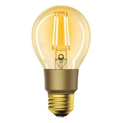 Image of IC-WO9078 è una lampadina a LED a filamento intelligente creata per portare un illuminazione vintage e romantica in casa, ufficio, ristorante o un altro ambiente in cui si desideri questo tipo di atmosfera. La colorazione è classica, ambra c