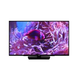 Image of PHILIPS PROFESSIONAL DISPLAY 55in Professional TV, 4K-UHD, VGA, HDMI 2x, DVB-S2/C/T/T2 HEVC, RF, black, low power consumption, USB, configurable welcome page, USB Cloning TVs, Off line channel editor for PC, menu locking, volume control