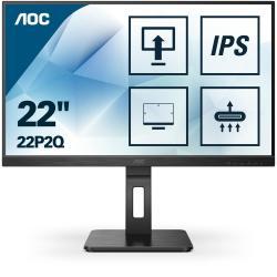 """Image of Design, praticit? e prestazioni in un monitor Full HD da 21,5"""" con DisplayPort\nIl 22P2Q presenta un pannello piatto IPS/3FL da 21,5"""" con risoluzione Full HD e ampi angoli di visione di 178?/178?. Progettato pensando agli utenti professionali, questo moni"""