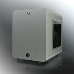 Image of RAIJINTEK CASE MINI-ITX METIS PLUS SILVER ALLUMINIO FINESTRA 0R200057