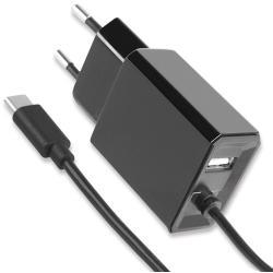 Image of · Consente velocemente di ricaricare periferiche USB-C utilizzando una presa di corrente AC· Provvisto di una porta USB e un cavo USB-C· Costituisce un sistema conveniente ed affidabile di ricarica quando non sia disponibile una porta