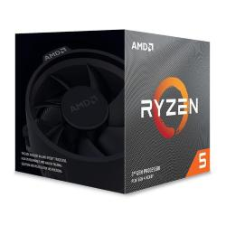 Image of CPU AMD RYZEN 5 3600XT BOX AM4 4.5GHz con WRAITH SPIRE COOLER 100-100000281