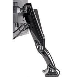 Image of Gas spring desk mount, broad adjustment capabilities, VESA 75/100, payload: 1-5 kg, fits for: 10-27'' displays