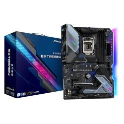 Image of Asrock Z490 Extreme4. Produttore processore: Intel, Processori compatibili: Intel? Celeron?, Intel? Core? i3, Intel Core i5, Intel Core i7, Intel Core i9, Intel? Pentium?. Tipi di memoria supportati: DDR4-SDRAM, tipo di slot di memoria: DIMM, Velocit? di