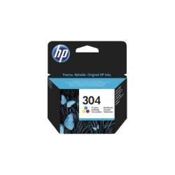 Image of HP 304 TRI-COLOR ORIGINAL INK CARTRIDGE