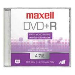 Image of MAXELL 100 DVD+R 16X SHRINK TERMORETRATTO
