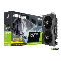 Image of The Zotac GeForce GTX 1660 Super AMP Edition Graphics Card is driven by the all-new NVIDIA Turing architecture and with the GeForce GTX 1660 producing high clock speeds this card will give you incredible new levels of gaming power with realistic visuals a