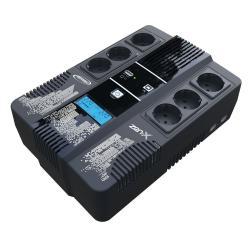 Image of Con la sua tecnologia Line Interactive, l UPS Zen-x è la soluzione contro i disturbi elettrici e la breve mancanza di corrente. Grazie alle sue 3 prese di backup, garantisce l alimentazione dei dispositivi collegati e offre un autonomia fino a 15 m