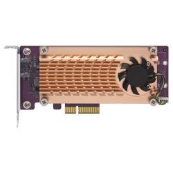 Image of DUAL M.2 22110/2280 PCIE SSD CARD (PCIE GEN2 X4)