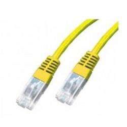 Image of PATCH CORD CAT 5E UTP AWG26 MT.1 GIALLO