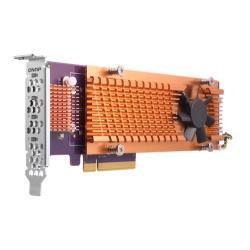 Image of QUAD M.2 2280 PCIE SSD EXPANSION CARD PCIE GEN2 X8