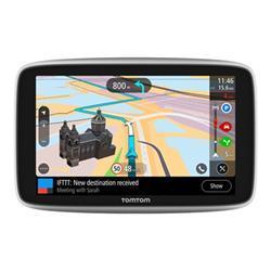 Image of NAVIGATORE TOMTOM GO PREMIUM 6'' Guidare da A a B con il tuo navigatore significa andare oltre i percorsi conosciuti ed esplorare il mondo. Con il navigatore TomTom GO Premium ricevi indicazioni di guida e informazioni sul traffico di alta qualità