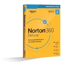 Image of NORTON 360 DELUXE 2020 - 3 DEVICE 1 YEAR- 25GB