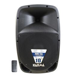 "Image of SPEAKER KARMA 10"" 160W MP3/SDCARD USB 80W RMS CON TELECOMANDO"