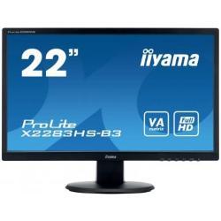 Image of Monitor TFT, 16:9, 54,6 cm (21,5''), 1920x1080 pixel, VESA Mount (100x100 mm), 4ms, Luminosit?: 250cd, Angolo di visuale: 178/178?(H/V), Contrasto: 3000:1, Audio, VGA, Display-Port, HDMI, incl.: Cavo (HDMI), Alimentatore, Cavo di alimentazione, QSG, Color