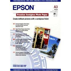 Image of EPSON CARTA FOTOGRAFICA SEMILUCIDA A3 20F