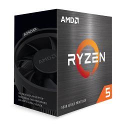 Image of CPU AMD RYZEN 5 5600X BOX AM4 3.6GHz con WRAITH STEALTH COOLER 100-10000006