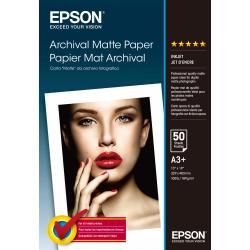 Image of EPSON CARTA MATTE DA ARCHIVIO A3+ 50FG