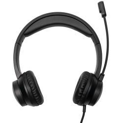 Image of · Cuffie USB Thx-20 con microfono incorporato· Archetto regolabile e microfono· Fascia ultra morbida e cuscinetti auricolari· Perfette per chiamate online, corsi online, videogiochi o semplicemente per ascoltare contenuti digit