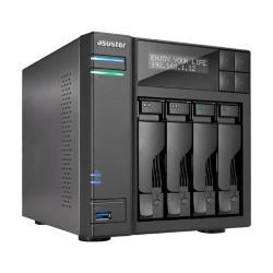Image of ASUSTOR NAS 4 BAIE J3455 QC 1.5GHZ 8GB DDR3L
