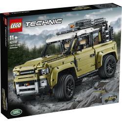 Image of Tocca con mano un classico design automobilistico con il modello della Land Rover Defender 42110 LEGO? Technic, incredibilmente autentico e perfetto per l?esposizione. Sviluppata in collaborazione con Land Rover, questa fantastica riproduzione LEGO cattur