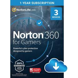 Image of NORTON 360 FOR GAMERS 50GB 1 USER 3 DEVICE 1Y