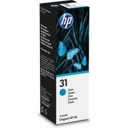 Image of HP 31 70ML CYAN ORIGINAL INK BOTTLE