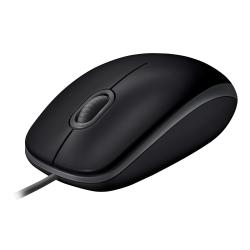 Image of LOGITECH B110 SILENT MOUSE USB - BLACK
