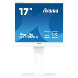 Image of Monitor TFT, 5:4, 43,2cm (17''), 1280x1024 pixel, 5ms, Luminosit?: 250cd, Angolo di visuale: 170/160?(H/V), Contrasto: 1000:1, DVI, VGA, incl.: Cavo (DVI, Audio), Cavo di alimentazione, QSG, Colore: bianco