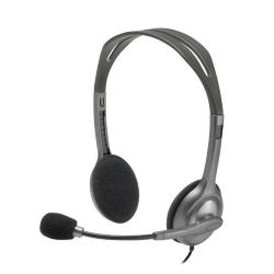 Image of LOGITECH STEREO HEADSET H111 - ANALOG - ONE PLUG