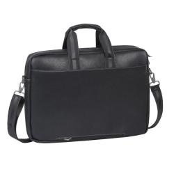 Image of RIVACASE BORSA NOTEBOOK 16 NERO SIMILPELLE /