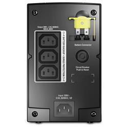 Image of BACK-UPS 500VA AVR IEC OUTLETS 300WATT 500VA