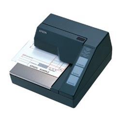 Image of Stampante per ricette/ricevute, Stampa ad aghi, Larghezza di stampa (max.): 65 mm, Velocit? (max.): 2,1 lps, RS232, ESC/POS, ordinare a parte: Cavo di interfaccia, Alimentatore, Colore: nero