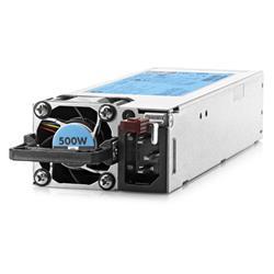 Image of HEWLETT PACK HP 500W FLEX SLOT PLATINUM HOT PLUG POWER SUPPLY