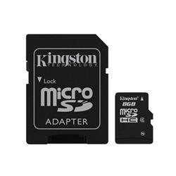 Image of KINGSTON 8GB MICRO SD CLASSE 4