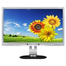 Image of PHILIPS 22 LED 16 10 DVI VGA MULTIM PIVOT REG IN H DVI VGA