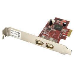 Image of LINDY SCHEDA FIREWIRE PCI-E. 2 PORTE