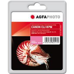 Image of ORIGINAL Agfa Photo Cartuccia d'inchiostro magenta (foto) APCCLI8PMD Agfa Photo ~800 Seiten 15.5ml Agfa Photo CLI-8pm (0625B001)