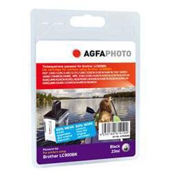 Image of ORIGINAL Agfa Photo Cartuccia d'inchiostro nero APB900BD Agfa Photo ~900 Seiten 25ml Agfa Photo LC-900bk